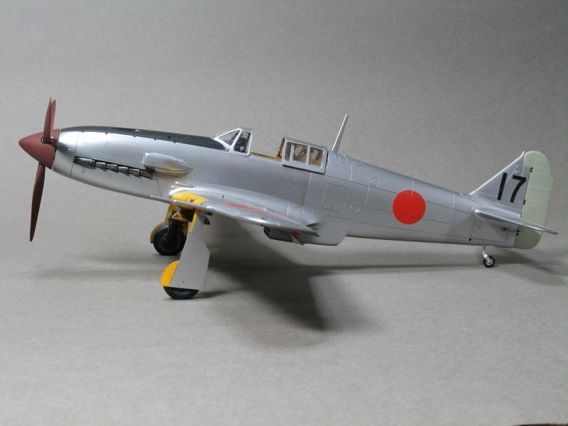 三式戦闘機「飛燕」二型改 製作記                   ハセガワ 1/48 一型丁より改造