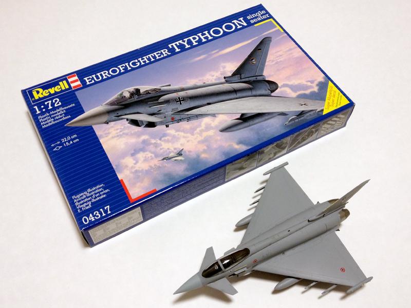 ユーロファイター タイフーン イタリア空軍(ドイツレベル 1/72)
