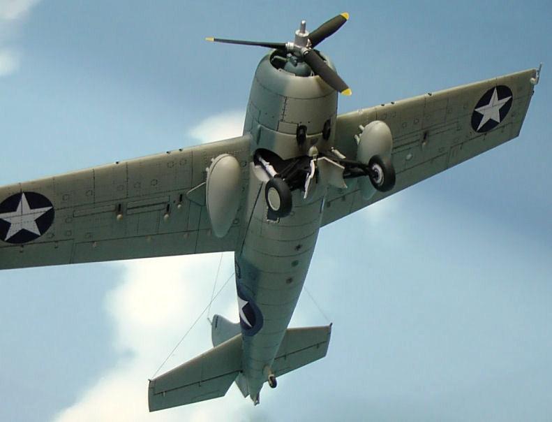 アメリカ海軍艦上戦闘機F4F-4ワイルドキャット(タミヤ1/48) Home >