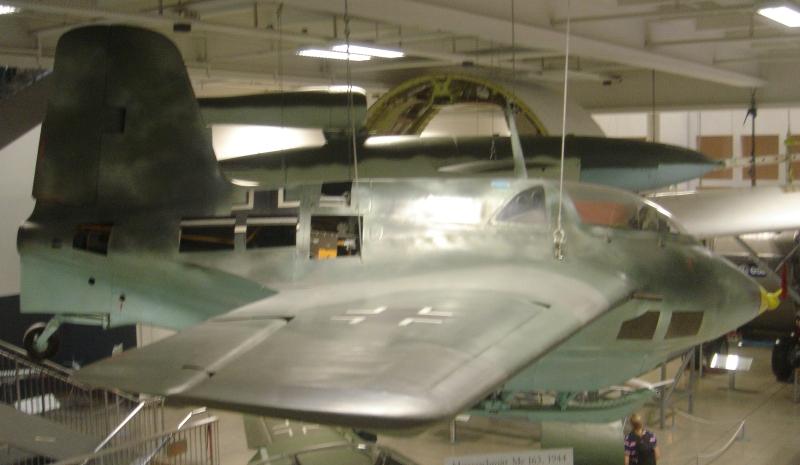 ドイツ博物館(その3)            メッサーシュミット Me-163 コメット
