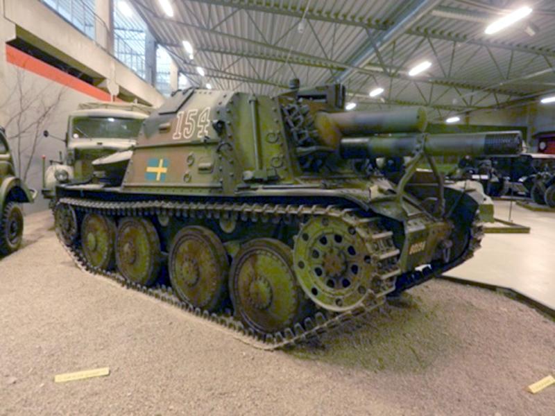 Strv m/41 イン スウェーデン