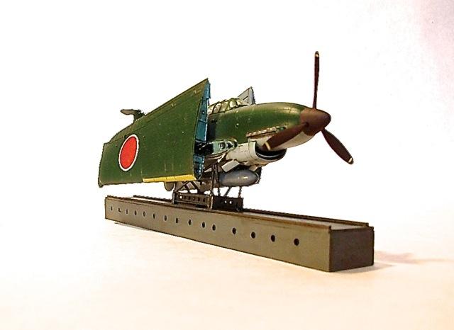 潜水空母「伊−400」と「晴嵐」