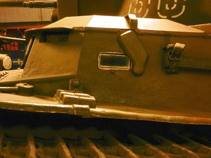 (Photo) スウェーデン陸軍軽戦車 Strv.m/38