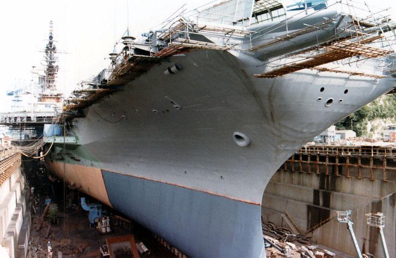 横須賀海軍施設ドック