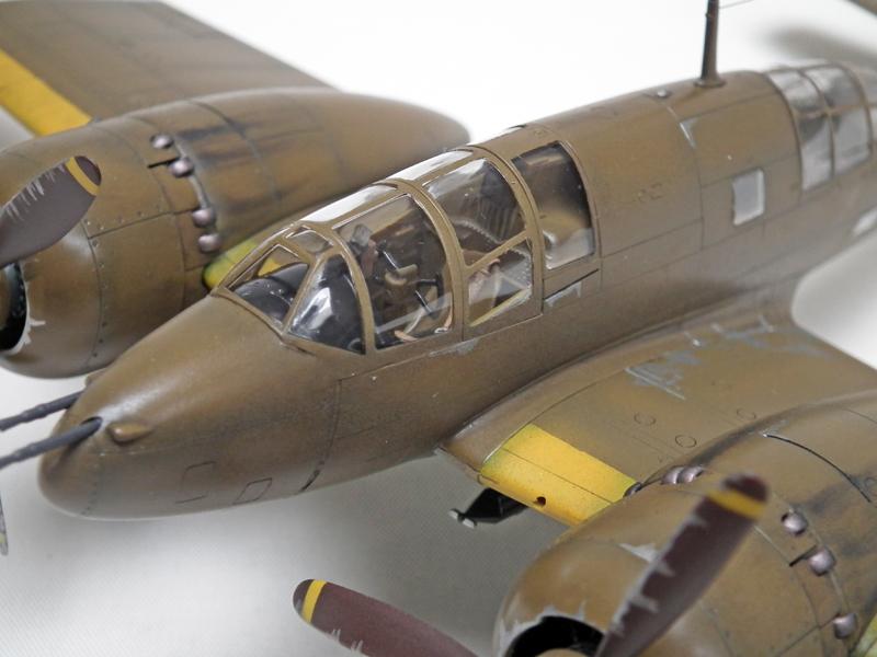 日本陸軍百式司偵Ⅲ型乙+丙 (キ46-III乙+丙)防空戦闘機 (タミヤ 1/48)