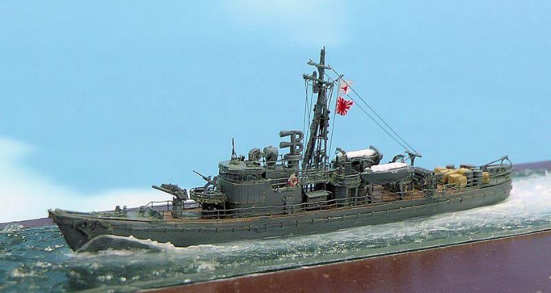 日本海軍13号型駆潜艇第20号艇 (タミヤ 1/700)