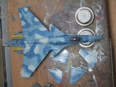 Su-33 フランカーD (ハセガワ 1/72)